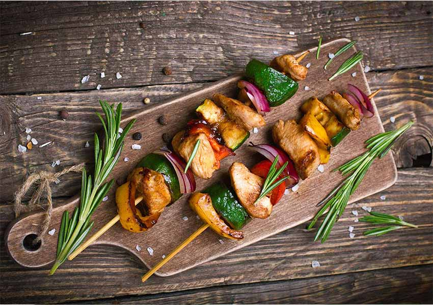 Chicken Saltimbocca Kabobs Recipe