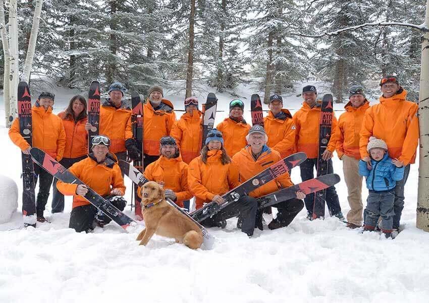 Helitrax Ski Team