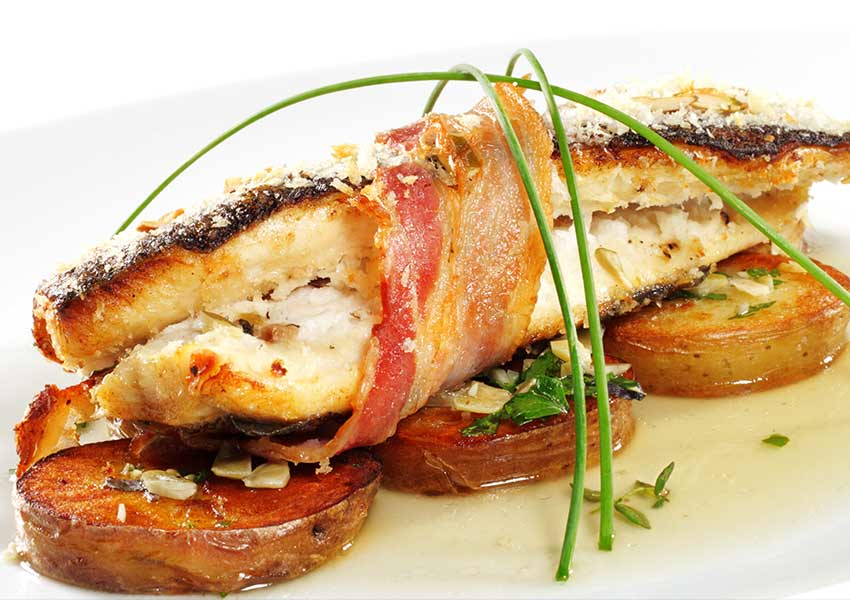 Bacon Wrapped Trout Recipe