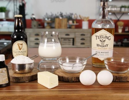 Fudgy Guinness Brownie Recipe Ingredients