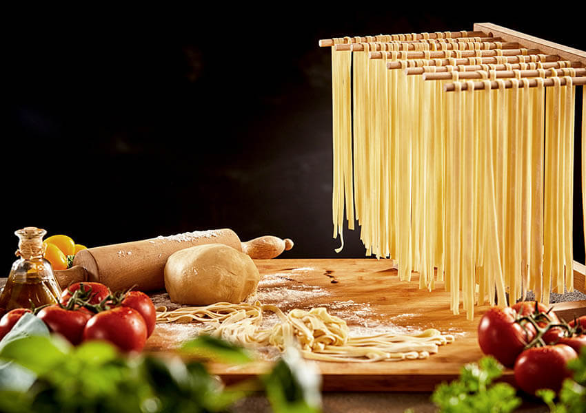 Essential Italian cooking tools - pasta drying rack