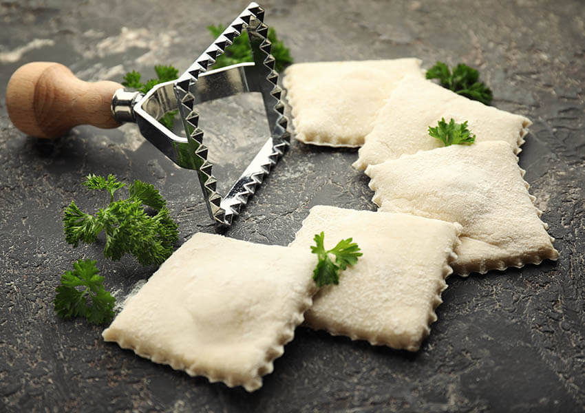Essential Italian cooking tools - ravioli cutter