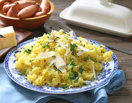 Recipe for Risotto alla Milanese, AKA Saffron Risotto