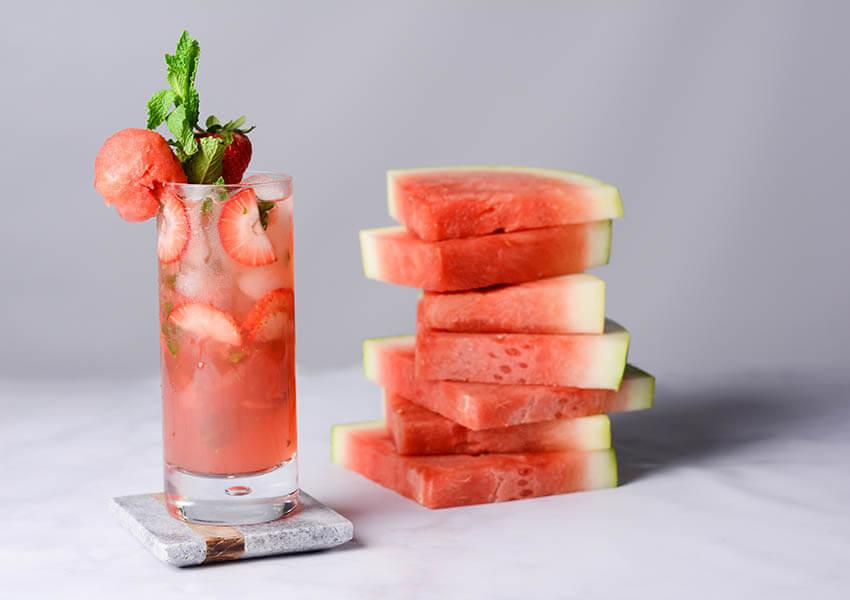 Strawberry Watermelon Mojito Recipe