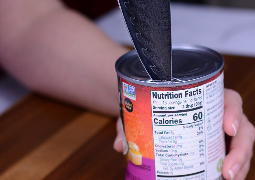 """Kitchen Knife Safety: Opening Cans"