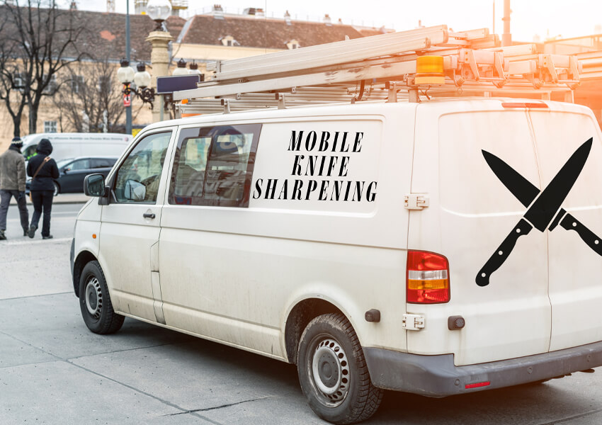 """Best Knife Sharpener: Mobile Sharpening Service"