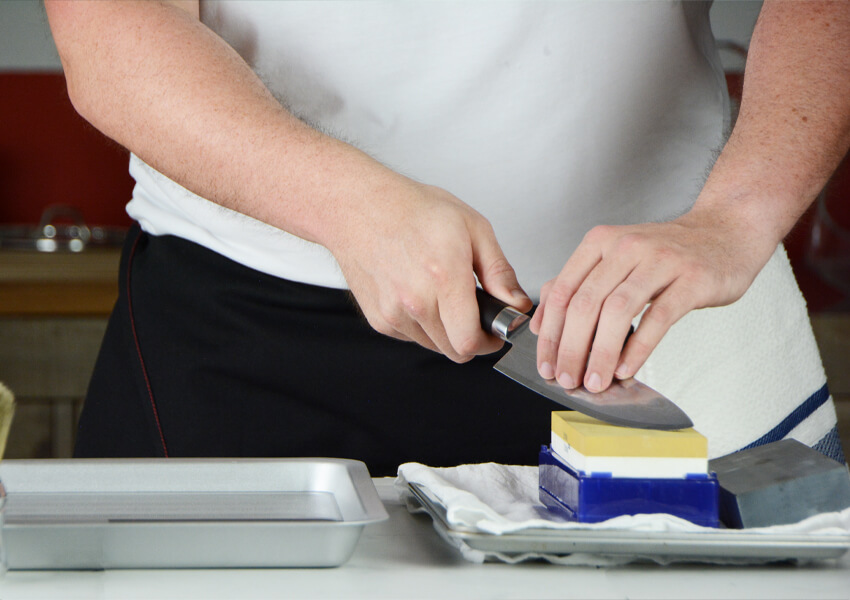 """Best Knife Sharpener: Sharpening Stone"