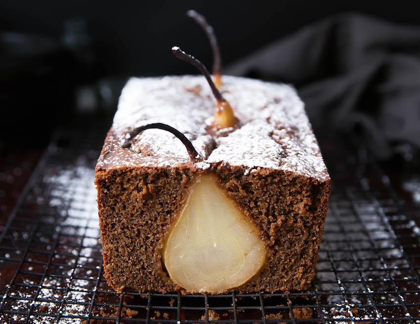 Drunken Pear Ginger Bread Recipe