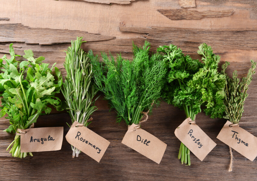 """Fresh Produce: Herbs and Spices"