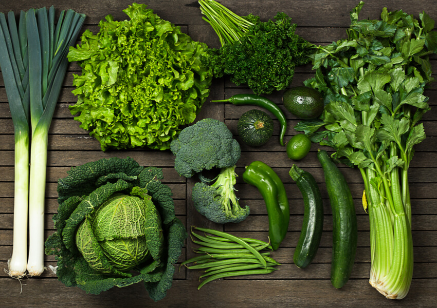 """Vegetable Types: Leafy Greens"