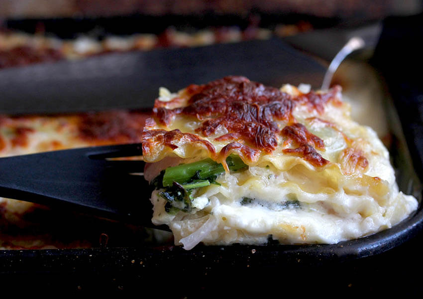 Bechamel Vegetable Lasagna Recipe
