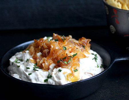 Caramelized Onion Dip Recipe