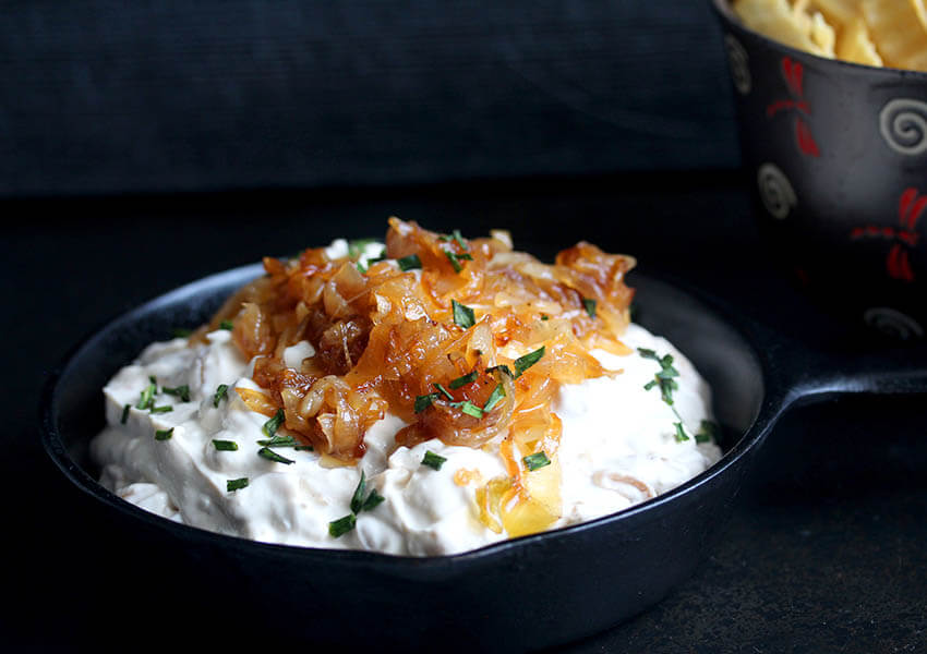 Holiday Appetizers: Caramelized Onion Dip