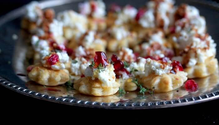 Whipped Goat Cheese Tartlets Holiday Appetizer Recipe