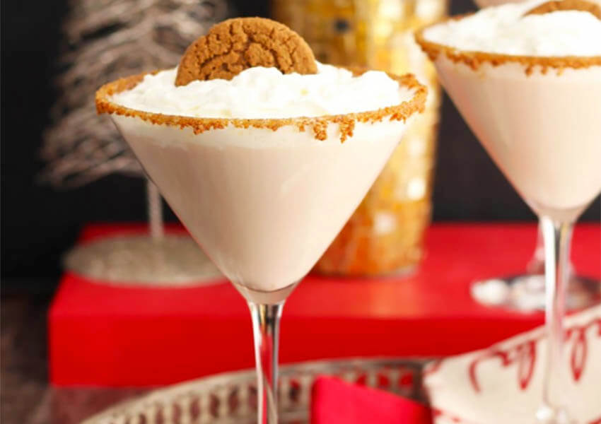 Holiday Cocktails: Gingerbread Martini