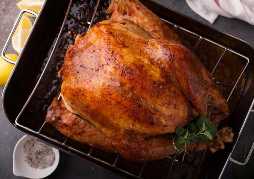 Glazing a Turkey