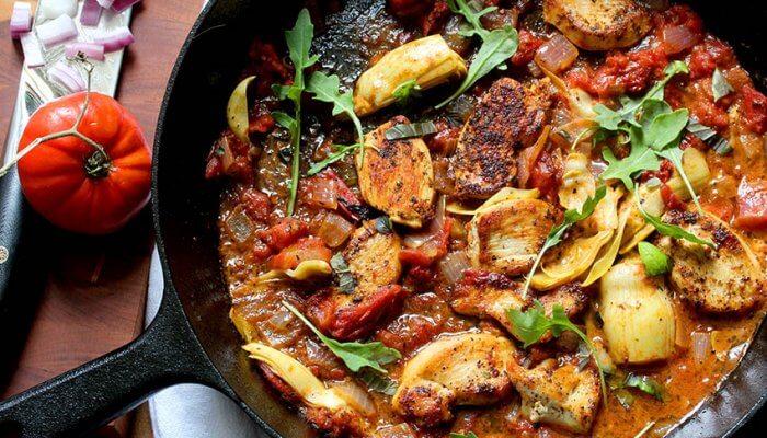 Paleo Chicken Sauce Tomat Recipe