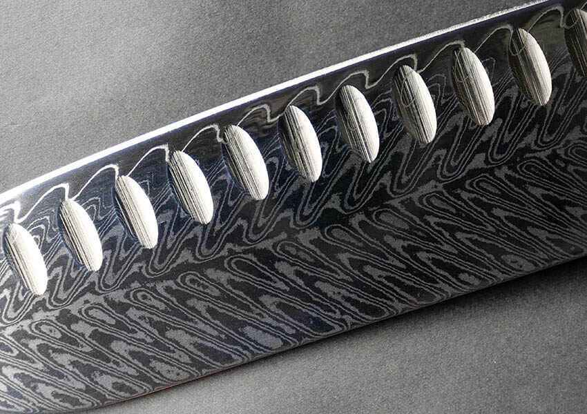 Feather Damascus Pattern