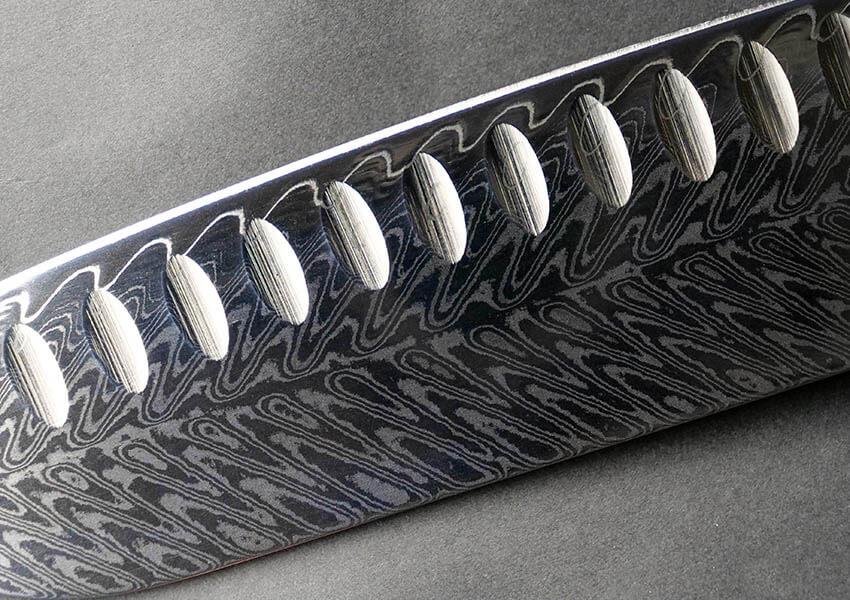 Feather Damascus Pattern