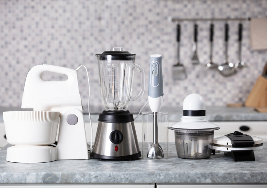 How to Organize Small Kitchen Appliances