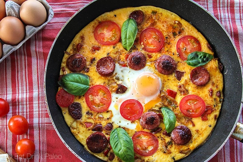 One Pot Meals: Paleo Frittata