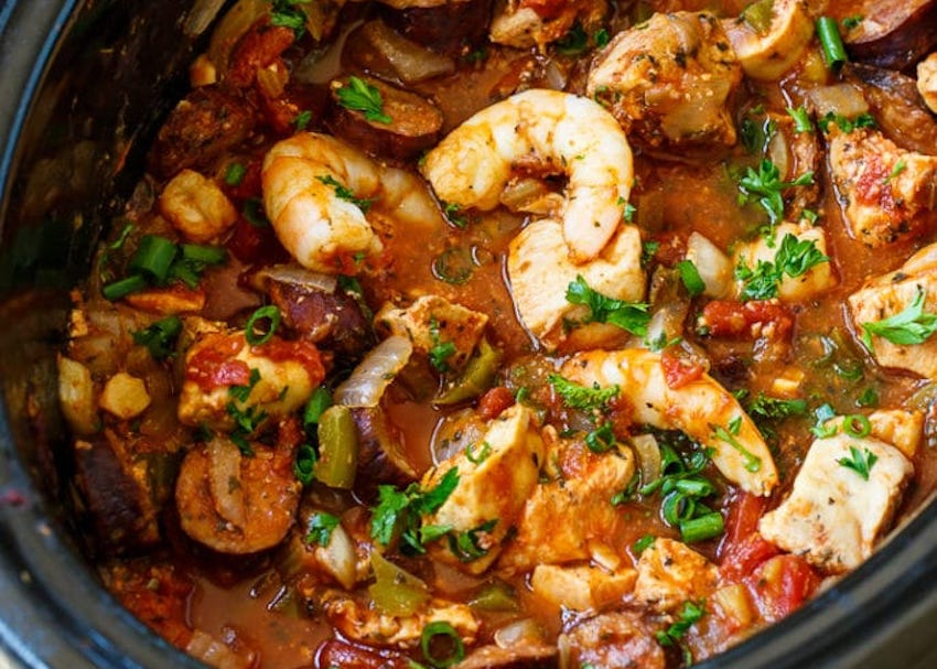One Pot Meals: Slow Cooker Jambalaya