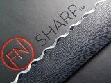 F.N. Sharp Damascus Bread Knife