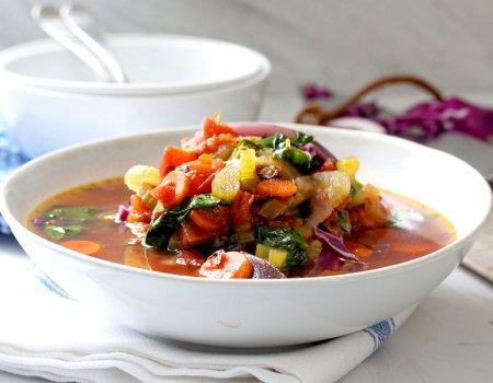 One-Pot Veggie Soup Recipe