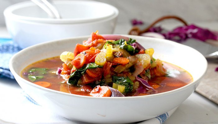 One-Pot Veggie Soup Recipe