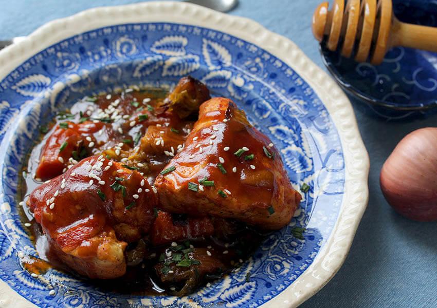 Instant Pot Honey Chicken Recipe
