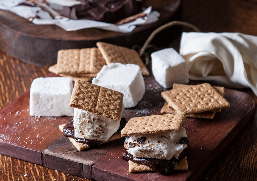 Beer Infused S'mores Recipe