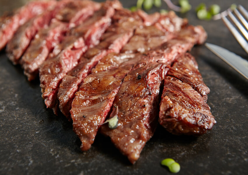 Beer Marinated Skirt Steak