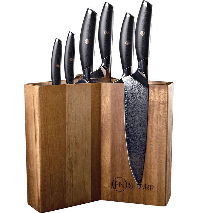 f.n. sharp magnetic knife block